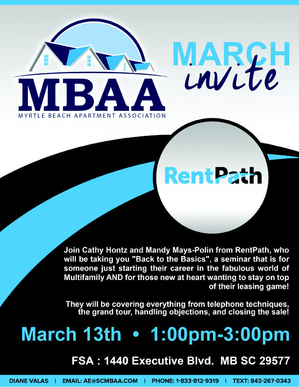 MBAA March Invite Flyer