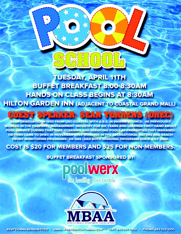MBAA Pool School Flyer 030617